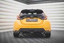 CUP Diffusor für Toyota Yaris GR MK4 Heckstoßstangen Rear Splitter ABS