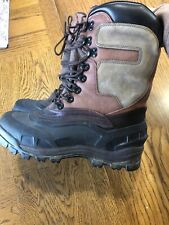 Ranger Men's 8 Brown Leather/Rubber Thinsulate Ultra Liners Snow Boots