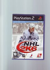 NHL 2K6 - ICE HOCKEY PLAYSTATION PS2 GAME / + 60GB PS3 - ORIGINAL & COMPLETE VGC