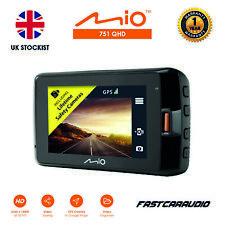"MIO MIVUE 751 QHD 2.5K 1440P GPS G-SENSOR 2.7"" DISPLAY DVR DASH CAMERA"