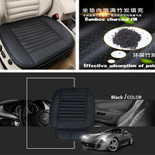 1 Pcs Car Seat Cushion PU Leather Breathable Soft Pad Cover Bamboo Charcoal Mat