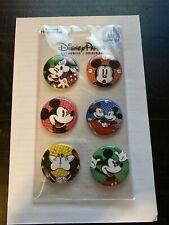 Disney Mickey & Minnie Button Magnet Set