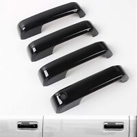 For 2015 2016 2017 2018 2019 2020 Ford F150 Gloss Black Door Handle Covers F-150