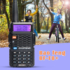 USA Stock Baofeng F8+ Walkie Talkie 5W UHF VHF Dual Band FM Radio Two Way Radio