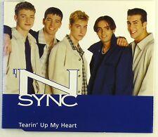CD Maxi-N Sync-TEARIN 'Up My Heart-a4233