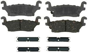 Disc Brake Pad Set-Ceramic Disc Brake Pad Rear ACDelco Advantage 14D1120CH