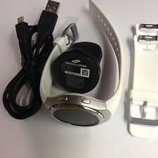 Samsung Gear S2 Silver Smart Watch - 42mm Stainless Steel - White - SM-R720