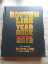 BOTTOM LINE YEAR BOOK 2013 (HEALTH) - EDITORS BOTTOM LINE PERSONAL - HARD COVER