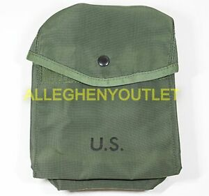 US Military ALICE SAW GUNNER POUCH - 200 Round - Utility Ammo Pouch OD GREEN NOS