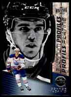 2017-18 Upper Deck Tim Hortons Platinum Profiles Connor McDavid #PP-9