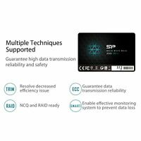"""Silicon Power 512GB SSD 3D NAND A55 SLC Cache Boost SATA III 2.5"""" 7mm (0.28"""")"""