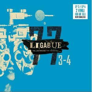 LIGABUE - 77 SINGOLI - 2LP (LP3+LP4) BLU VINYL NUOVO PREORDINE DAL 12 MARZO