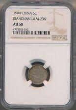 China Kiangnan CD1900 5 Cents L&M-236 NGC AU50