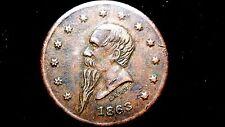New listing Civil War Token - (Ny630Q-4a) Gustavus Lindenmueller New York 1863