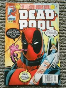 Deadpool comic No. 5  Volume 1 from May 1997 Marvel - Hard to find
