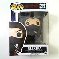 Funko Pop ELEKTRA 215 Marvel Daredevil Vinyl Figure