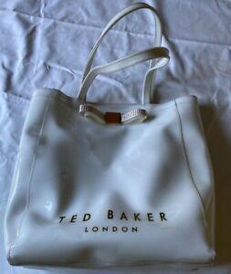 Ted Baker Large Tote Bag White  FRFEBJL1
