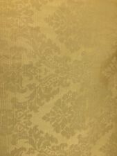 ANTIQUE GOLD Damask Brocade Upholstery Drapery Fabric (54 in.) Sold BTY