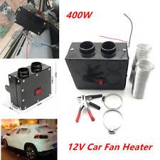 400W 12V Car SUV Fan Heater Winter Warm Windshield Defroster Demister Universal
