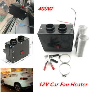 400W 12V Car SUV Fan Heater Winter Warm Windshield Defroster Demister Universal