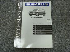 1999 Subaru Forester Section 5 Body Exterior Interior Shop Service Repair Manual