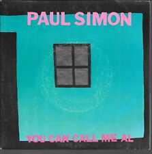 "45 TOURS / 7"" SINGLE--PAUL SIMON--YOU CAN CALL ME AL / GUMBOOTS--1986"