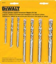 Dewalt, DW5207, 7 Piece, Premium Percussion Masonry Drill Bit Set