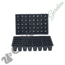 30 X 40 Cell Full Size Seed Tray Inserts Plug Trays Bedding plant Packs Plastic