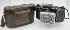 Rare 1936 - Agfa Karat 6.3 Art Deco 35mm Rapid Film Strut Folding Camera & Case
