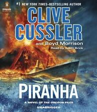 Clive Cussler's PIRANHA, Oregon Files Adventure, (2015, CD, Unabridged