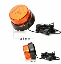 LED Warnleuchte Blitzer Orange Rundumleuchte Magnetbefestigung 12/24V Nr 852.2