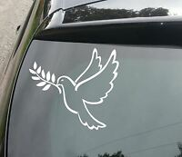 LARGE Peace Dove Van/Car JDM VW DUB VAG EURO Vinyl Decal Sticker