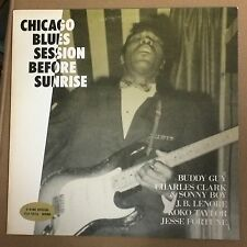 Chicago Blues session before sunrise-Buddy Guy, J.B. Lenoir p-vine Mono JP rare