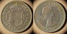 Great Britain : 1958  1/2 Cr  AU  # 807  IR1872