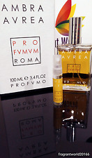 Profumum Roma Ambra Aurea Extrait - 2ml sample / 100% genuine... FAST DISPATCH!