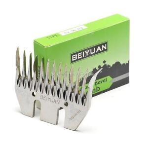 BEIYUAN Alpaca Combs Box of 5 Blades Fit Heiniger Sunbeam GST Clipper Handpiece
