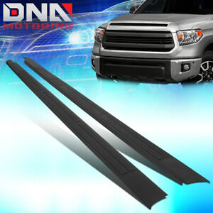 FOR 2014-2020 TOYOTA TUNDRA 6.5' BED RAIL CAP MOULDING PROTECTOR SIDE TRIM PANEL
