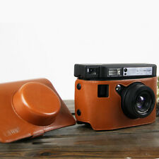 PU Brown Leather for lomography LOMO'INSTANT WIDE camera Sling Bag Outdoor