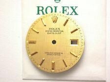 RARE VINTAGE ROLEX DATEJUST 16018 - 16013 QUICK SET TAPISSERIE DIAL GENUINE 100%