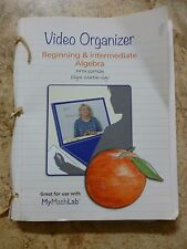 Student Organizer Beginning & Intermediate Algebra 5th Ed Martin-Gay 2013