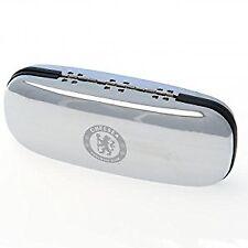 Chelsea FC Official Football Gift Chrome Glasses Case