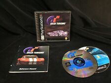 Gran Turismo PS1 Complete Black Label W Bonus GT 3 A-Spec Disc Classic Driving