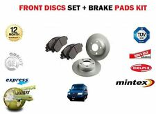 LDV PILOT ALL MODELS 1996-2005  NEW FRONT BRAKE SOLID DISCS SET + PADS KIT
