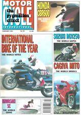 Suzuki RGV250M Gamma Honda CBR600F SC Kawasaki GPZ1000RX Cagiva Mito 125 SX550