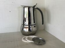 Bialetti Kitty Coffee Maker, Stainless Steel,  2 espresso cups, vgc