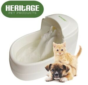 Heritage Automatic Drinking Fountain 2.5L Dog Cat Fresh Water Bowl Puppy Drinker