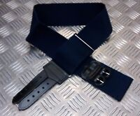 Genuine British Royal Navy RN Blue Stable Belt -  Adjustable - Brand NEW
