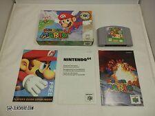 SUPER MARIO 64 (Nintendo 64 1996) Complete In Box!! N64 CIB!! Inserts