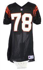 Anthony Munoz 1991-1992 Game Worn Cincinnati Bengals Home Jersey Mears A5 HOF