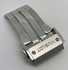 Authentic Hublot 22mm Stainless Steel Folding Deployment Watch Buckle OEM